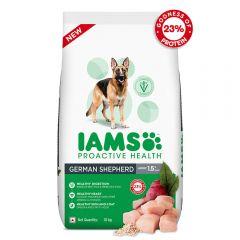 IAMS Proactive Health for Adult (1.5+ Years) German Shepherd Premium Dry Dog Food, 10 Kg
