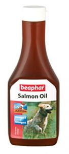 Beaphar Salmon Oil Supplement For Dogs 425 ml