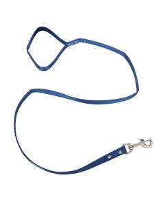 Petsworld 112.5 cm (45 Inch) Long Leash with Soft Handle For Kitten | Cats | Puppies Blue