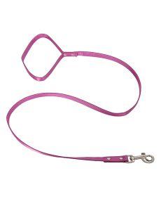 Petsworld 112.5 cm (45 Inch) Long Leash with Soft Handle For Kitten | Cats | Puppies Pink