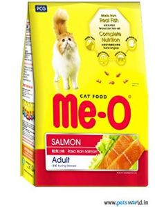 Me-O Adult Cat Food Salmon 400 gms