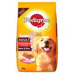 Pedigree Meat and Rice Adult Dog Food 10 Kg