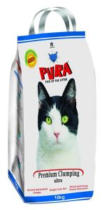Pura Premium Clumping Ultra Cat Litter 10 Kg