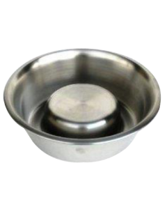 Pets Empire Slow Dog Feeding Bowl Polished 900 ml