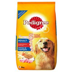 Pedigree Chicken and Vegetable Adult Dog Food 15 Kg