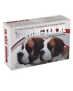 All4Pets Wormtek XL Dewormer 12 Tabs