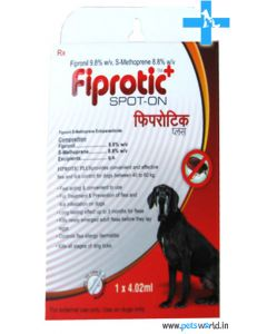 All4Pets Fiprotic Plus Spot On For Dogs 40 to 60 Kg