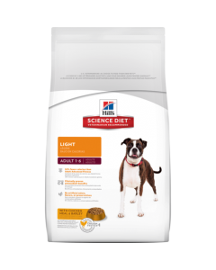 Hill's Science Diet Adult Light Dog Food 2.268 Kgs