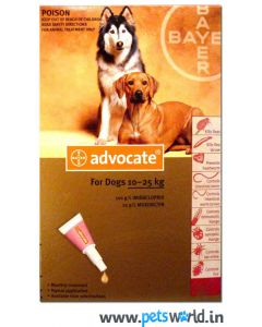 Bayer Advocate for External Parasites for Large Dog 10 to 25 Kg