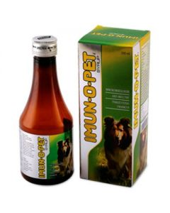 All4Pets Imun-O-Pet Syrup Immunity Supplement for Dog 200 ml