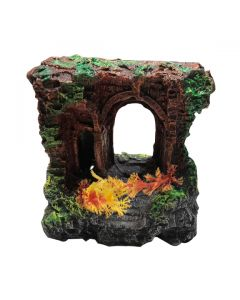 Aquatic Gateway Sculpture Stone For Aquarium Decoration