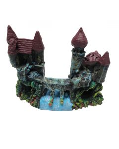Aquatic Bridge & Castle Sculpture Stone For Aquarium Decoration