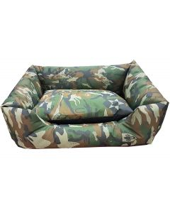 Petsworld Army Canvas Dog Bed Medium