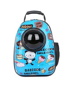 Petsworld Astronaut Pet Cat Dog Puppy Carrier Travel Bag Space Capsule Backpack Breathable (BAECCOB)