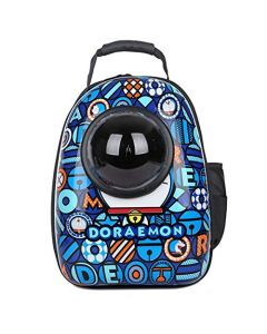 Petsworld Astronaut Pet Cat Dog Puppy Carrier Travel Bag Space Capsule Backpack Breathable Doremon