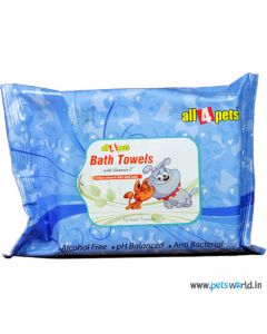 All4Pets Bath Towel For Dogs and Cats 10 pcs