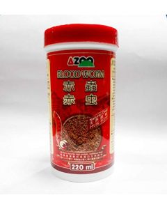 Azoo Bloodworm Fish Food 220 ml