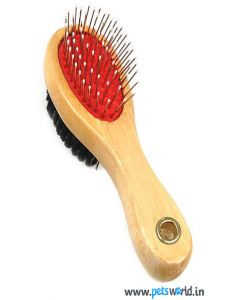 Petsworld Premium Double Sided Grooming Brush (L)