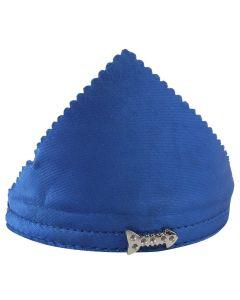 Petsworld Adjustable Solid Colour Bandana Scarf Collar Neckerchief for Puppies & Cats - Blue