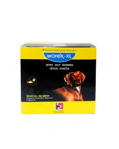 BEAPHAR Worex Xtra Large Dog Tablets 10X2