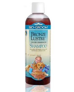 BIO GROOM Bronze Lustre Color Enhancer Dog Shampoo 350 ml