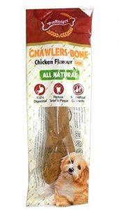 Gnawlers Bone Chicken Flavour Medium 1 Pcs ( All Natural)