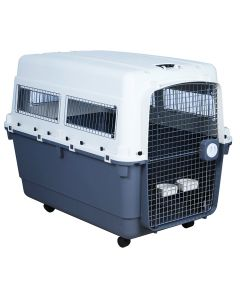 IATA Approved Fibre Flight Dog Crate - (LxBxH : 120x90x85 cm)