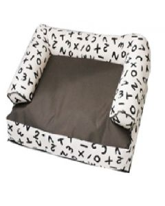Petsworld Canvas Sofa Dog Bed Waterproof and Cotton Medium