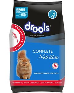 DROOLS Cat Food Adult Tuna & Salmon 1.2 Kg