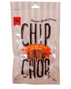 CHIP CHOPS Sweet Potato With Chicken Snacks 70 gms