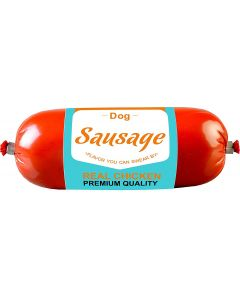 DROOLS Dog Sausage Real Chicken 250gm