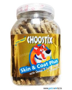 Choostix Skin And Coat Plus Dog Treat 450 gms