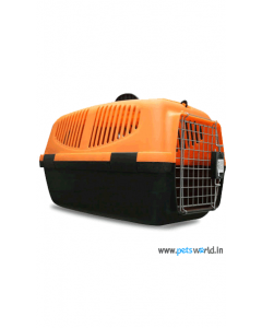 IATA Approved Fibre Flight Dog Crate L x B x H : 62.5x 32.5 x 37.5 cm (25 x 13 x 15 inch)