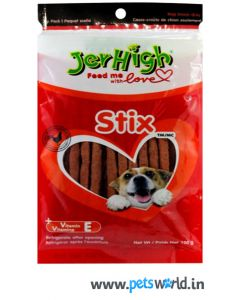 Jerhigh Dog Treats Stix 100 gms