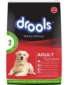 DROOLS Daily Nutrition Adult 100% Vegetarian 1.2 kg