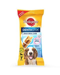 Pedigree DentaStix Daily Oral Care Medium Dog Treats 180 gm