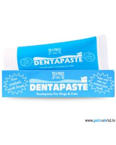 Tea Tree Oil Dentapaste Toothpaste For Dogs & Cats 50 gms