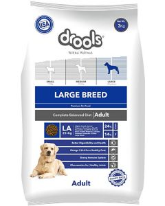 Drools Large Breed Adult Dog Food 3 Kg