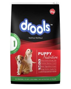 DROOLS Daily Nutrition Puppy 100% Vegetarian 3kg