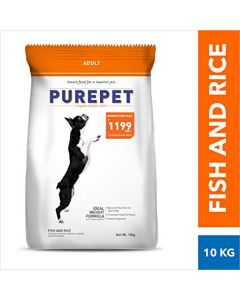 DROOLS Purepet Fish And Rice Dog Adult 10 Kg