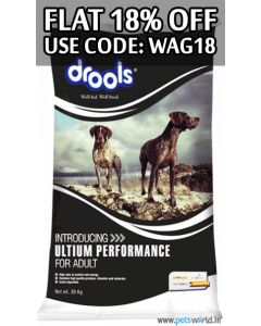 DROOLS Adult Ultium Performance Dog Food 20 Kg