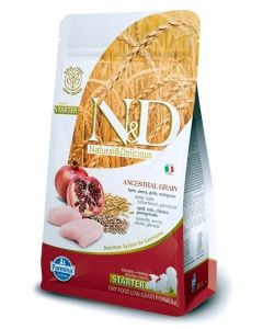 Farmina N&D Low Grain Chicken & Pomegranate All Breeds Puppy Starter 12 Kg