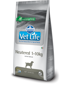 Farmina Vet Life Canine Formula Neutered 1 to 10 Kg Dog Weight 2 Kg