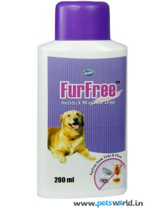 Venkys FurFree Anti-tick Shampoo for Dogs 200 ml