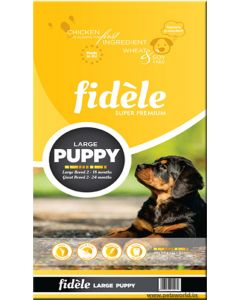 Fidele Puppy Large Breed Dog Food 15 Kg