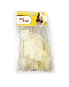 Pet en Care Flat Raw Hide Strips 200 gms