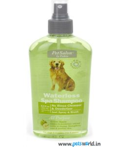 Petkin Waterless Spa Shampoo Green Apple 250 ml