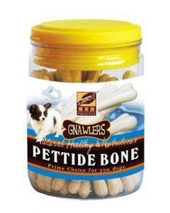 Gnawlers Puppy Treats  Pettide Bone Jar 180 gms