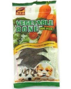 Gnawlers Dog Treats Snack Vegetable Bone