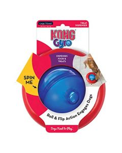 Kong Gyro Small Dog Toy
